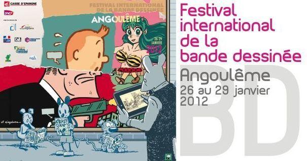 Le festival d'Angoulême pour les bulles