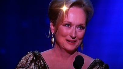 Oscar de la meilleure actrice: Meryl Streep!!