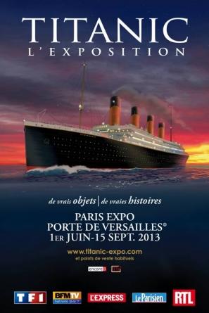 Titanic l'exposition jusqu'au 15 septembre dans la capitale
