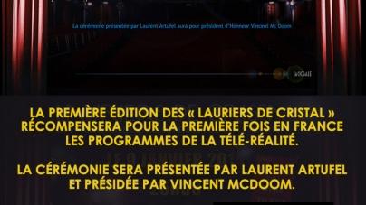 Première édition «Les Lauriers de Cristal», le 9 janvier 2014 à la Cigale