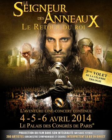 Le Seigneur des Anneaux : Le Retour du Roi, en ciné-concert !