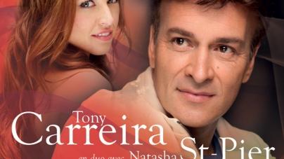 Tony Carreira reprend «Sous le vent» avec Natasha St-Pier