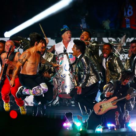 Bruno Mars au Super Bowl