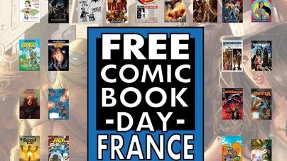 Le Free Comic Book Day, c'est ce week-end !