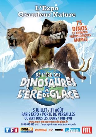 Des dinosaures à Paris !