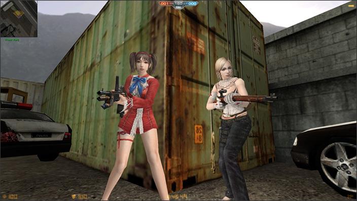 Counter-Strike Nexon Zombies filles