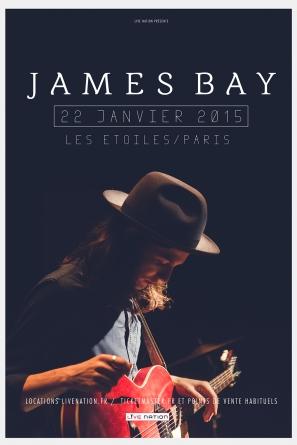 James Bay : un artiste à suivre de près aux étoiles