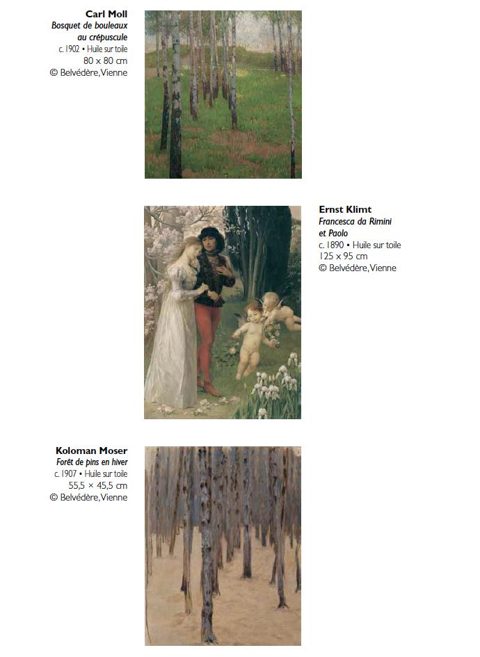 Quelques œuvres de l'exposition.
