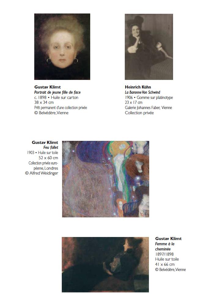 Quelques oeuvres  de l'exposition