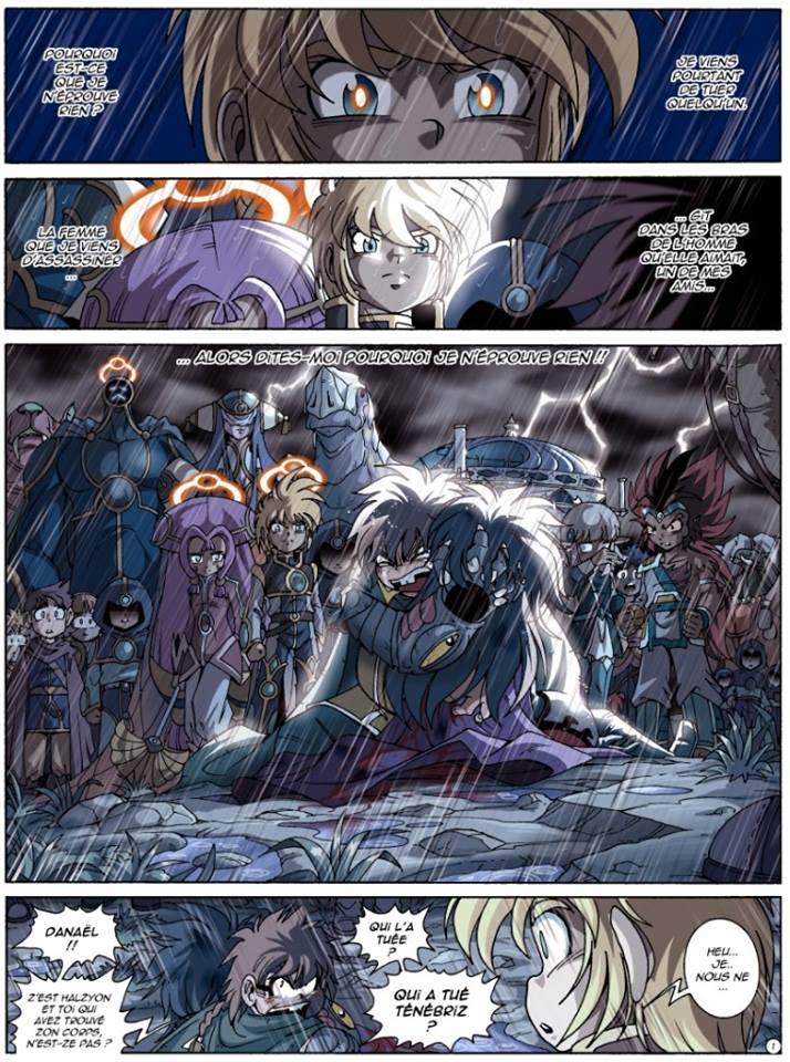 La première page du tome 18 des Légendaires dévoilée !