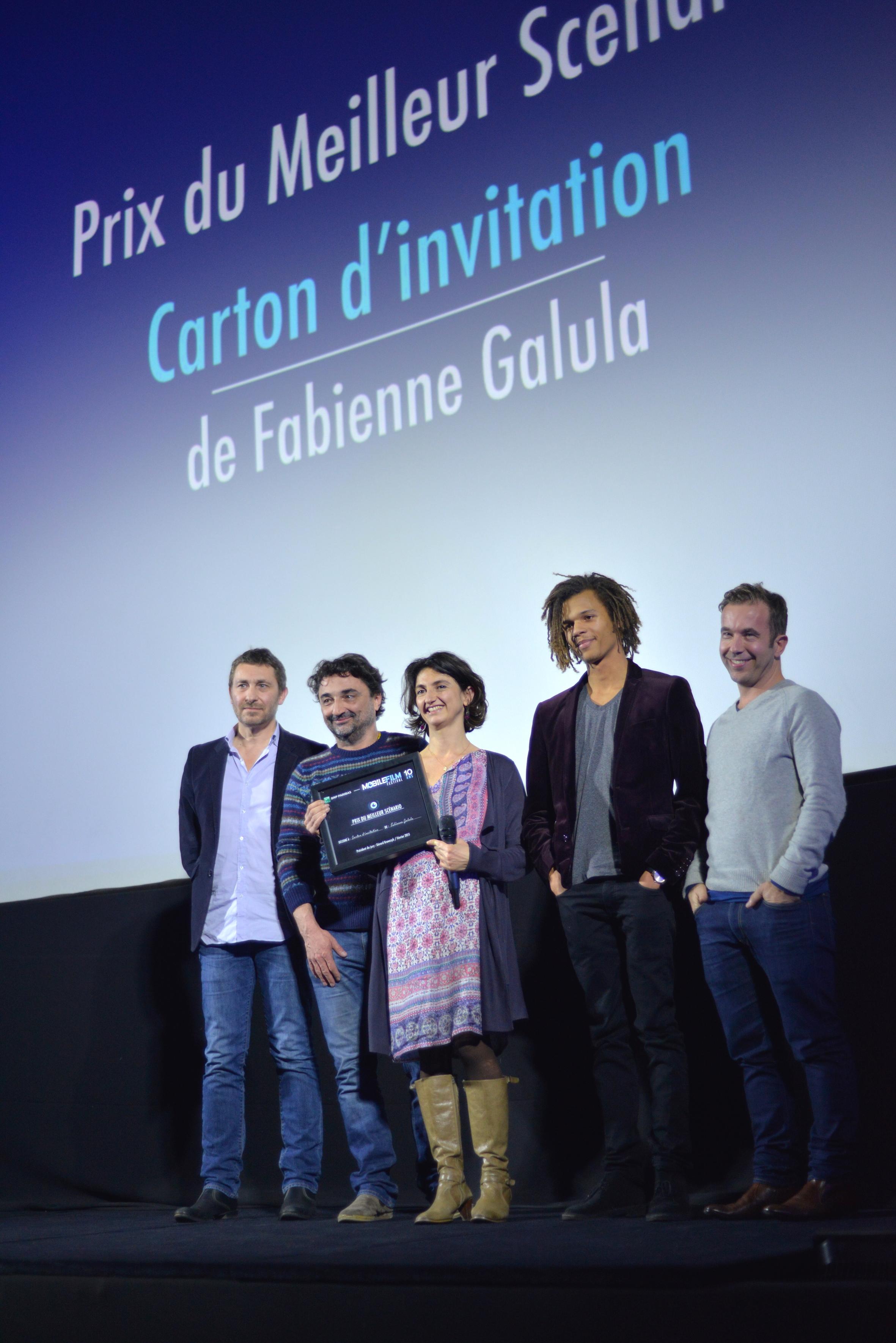 Fabienne Galula- Prix du Meilleur Scénario