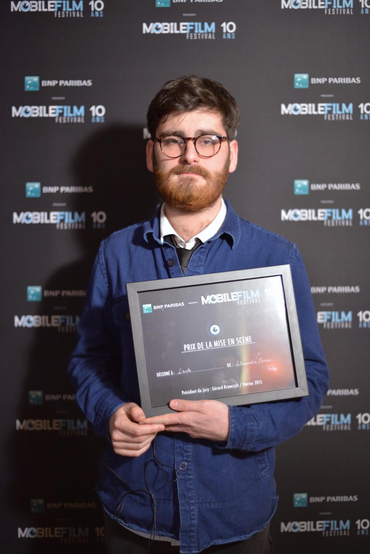 Alexandre Perez- Prix de la Meilleure Mise en Scène