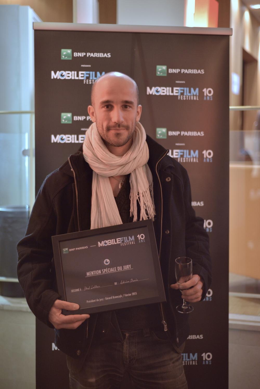Adrien Pavié - Mention spéciale du Jury