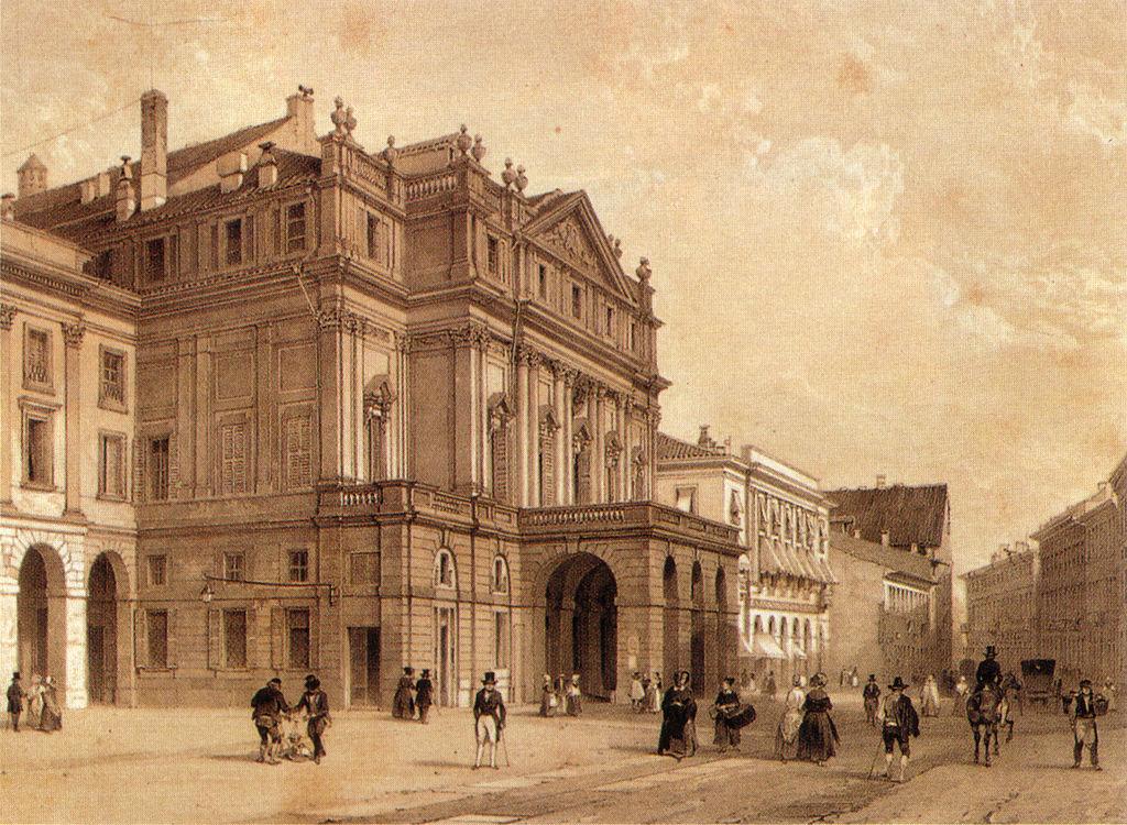 La Scala Milan XIXe