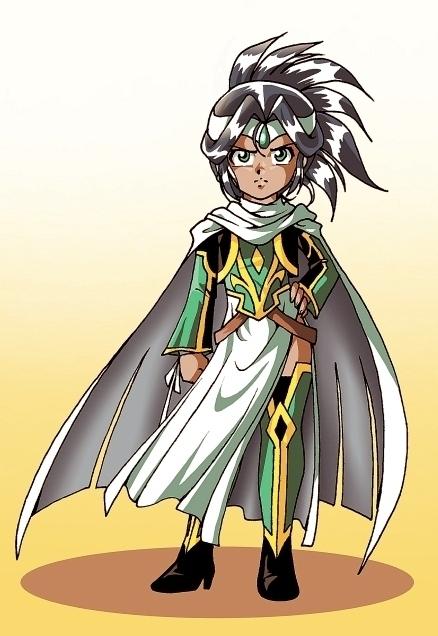 Jadina, la princesse magicienne.