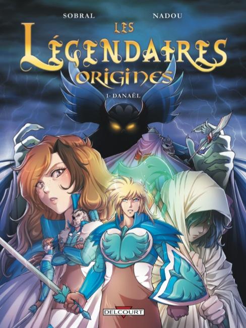 Couverture du tome 1 des Légendaires Origines
