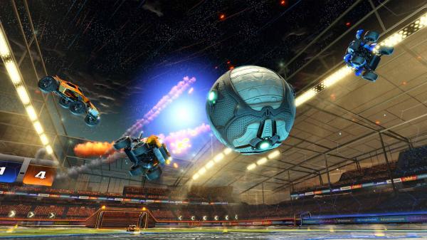 Rocket League match