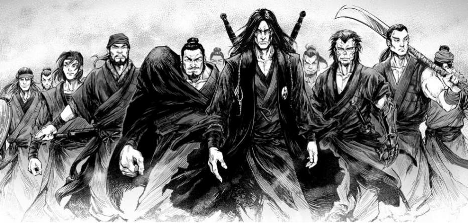 Blood & Steel, le nouveau manhua des éditions Kotoji !