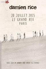 Damien Rice revient au Grand Rex