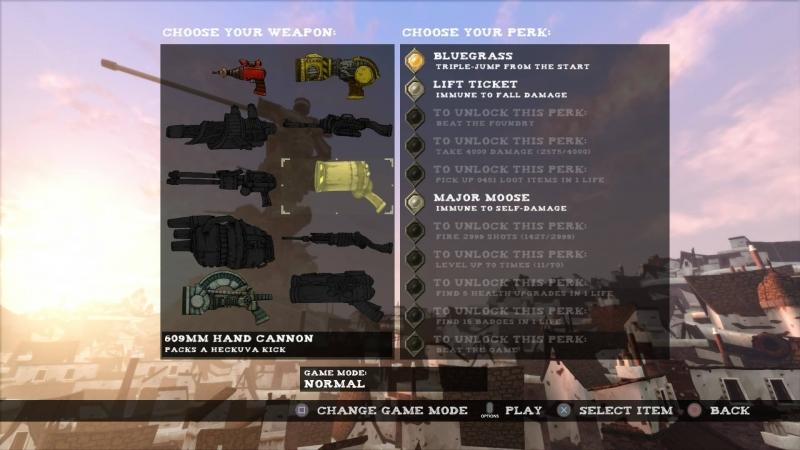 armes et capacité tower