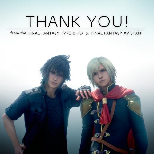 Square Enix remercie les joueurs !