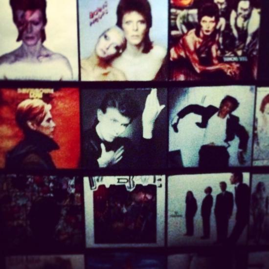 Pochettes des albums de David Bowie