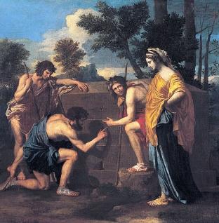 """""""Poussin et Dieu"""" au Musée du Louvre"""