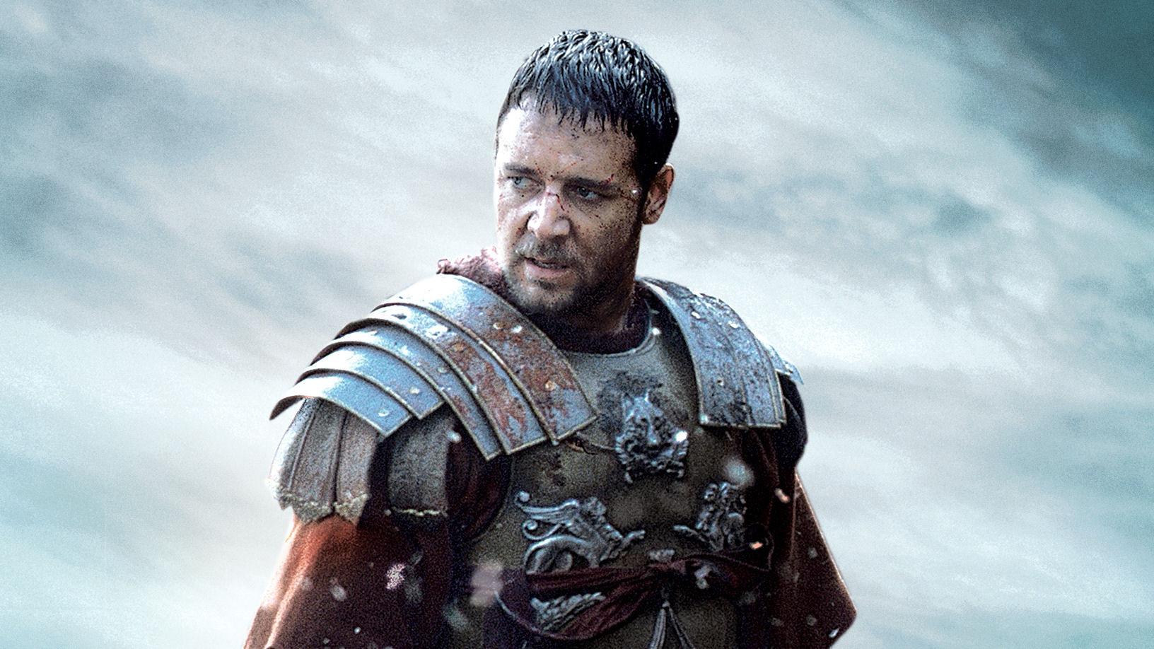 Crowe dans le rôle de Maximus