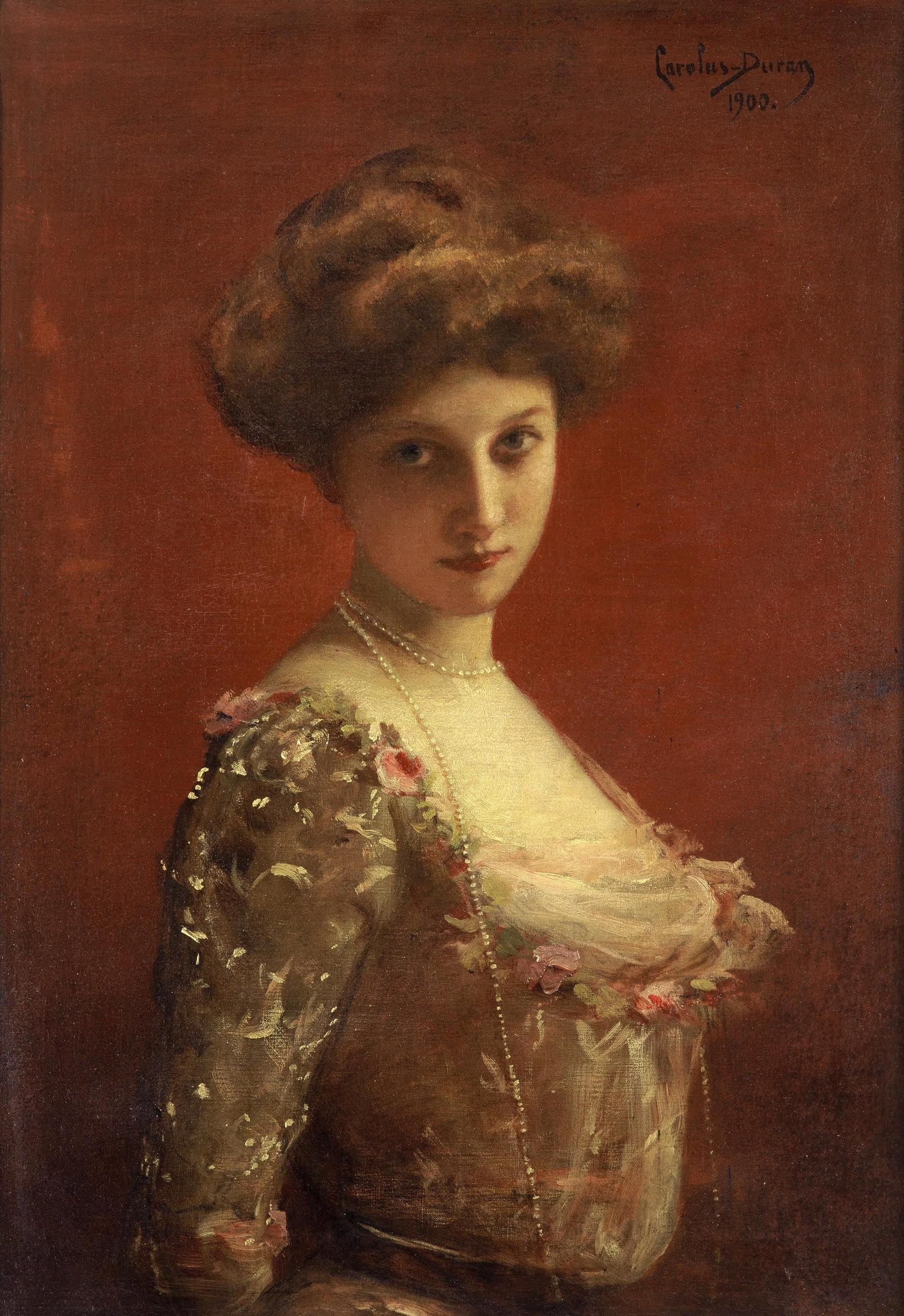 Jane Henriot par Carolus Duran en 1900