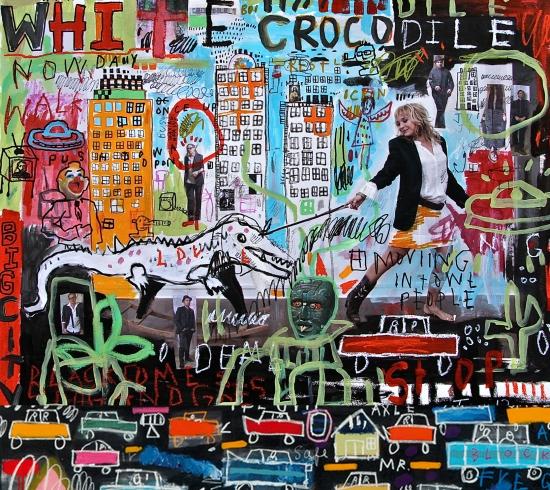white crocodile, album