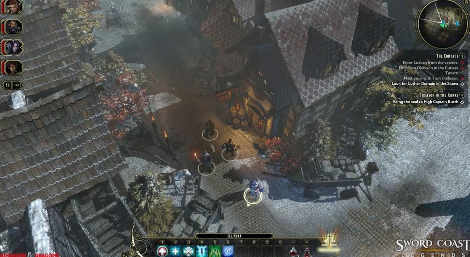 Sword Coast Legends Screen