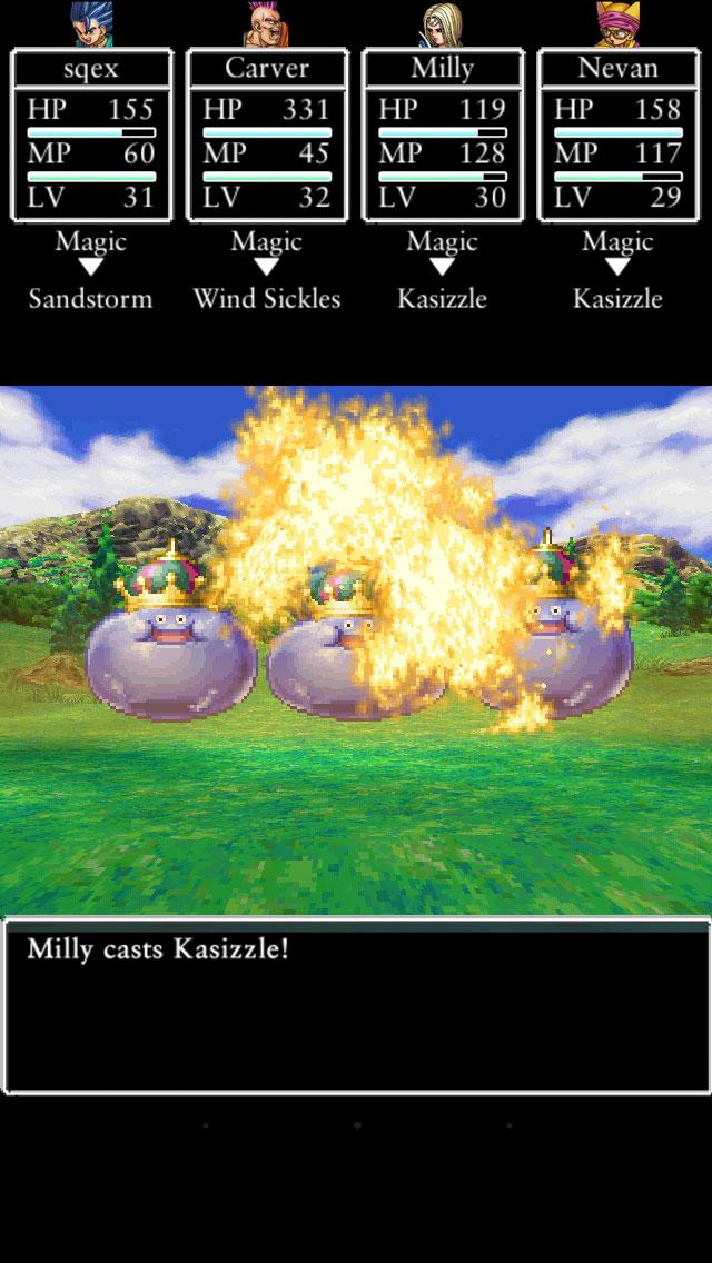Dragon Quest VI combats