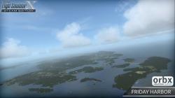 Microsoft Flight simulator X accueille le Friday Harbor !