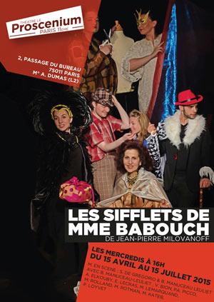 Les sifflets de madame babouch Proscenium