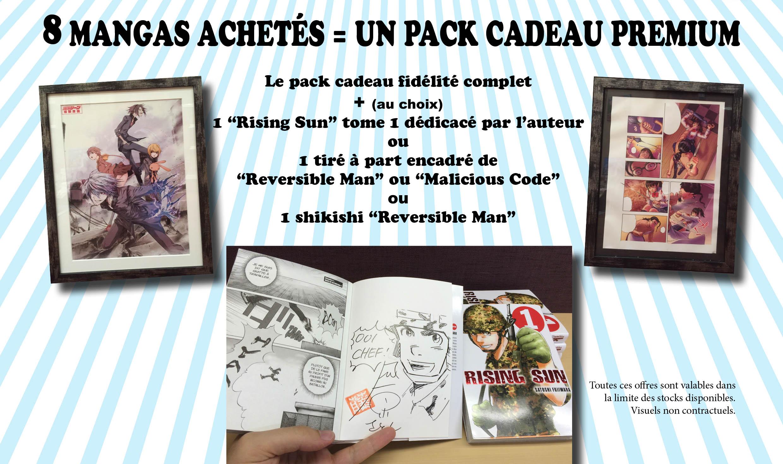 Pack prenium 8 mangas JE 2015