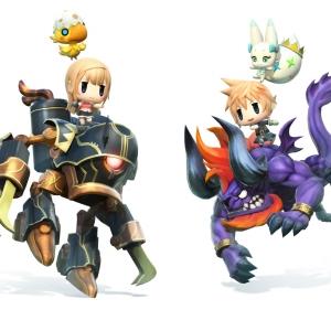 artwork de world of Final Fantasy