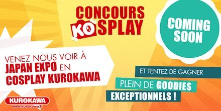 concours cosplay kurokawa