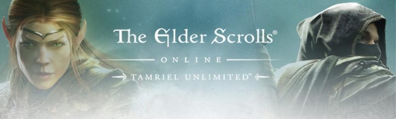 Banniere The Elders Scrolls Online Tamriel Unlimited