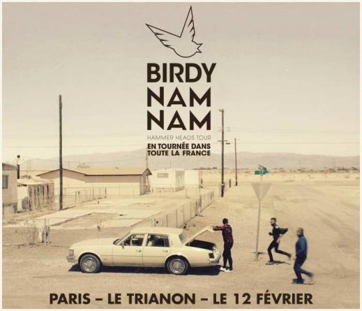 Birdy Nam Nam en tournée