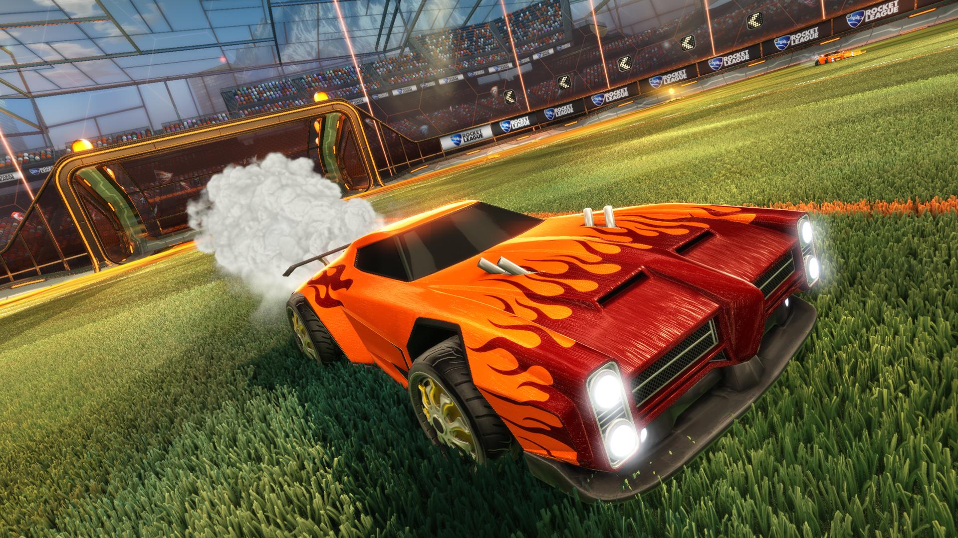 Rocket League Muscle Car