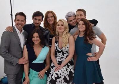 Le cast au SDCC