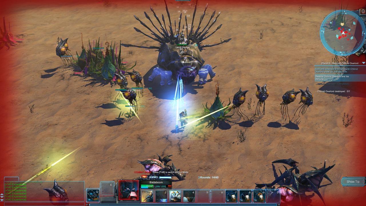 Colonies Online combat