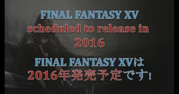 Final Fantasy XV sortira bien en 2016 !