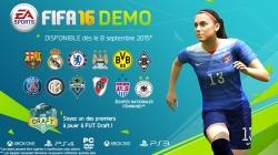 FIFA 16 : démo jouable à partir du 8 septembre !