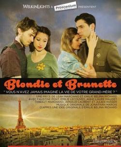 Blondie et Brunette proscenium