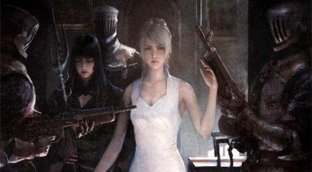 Gentiana-Lunafreya-Final-Fantasy-XV