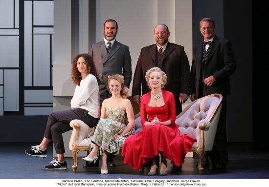 theatre hebertot, Victor