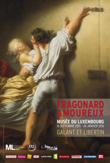 Affiche expo Fragonard Amoureux