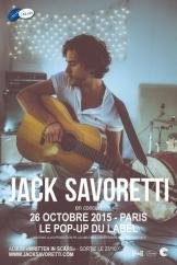 Jack Savoretti de passage à Paris