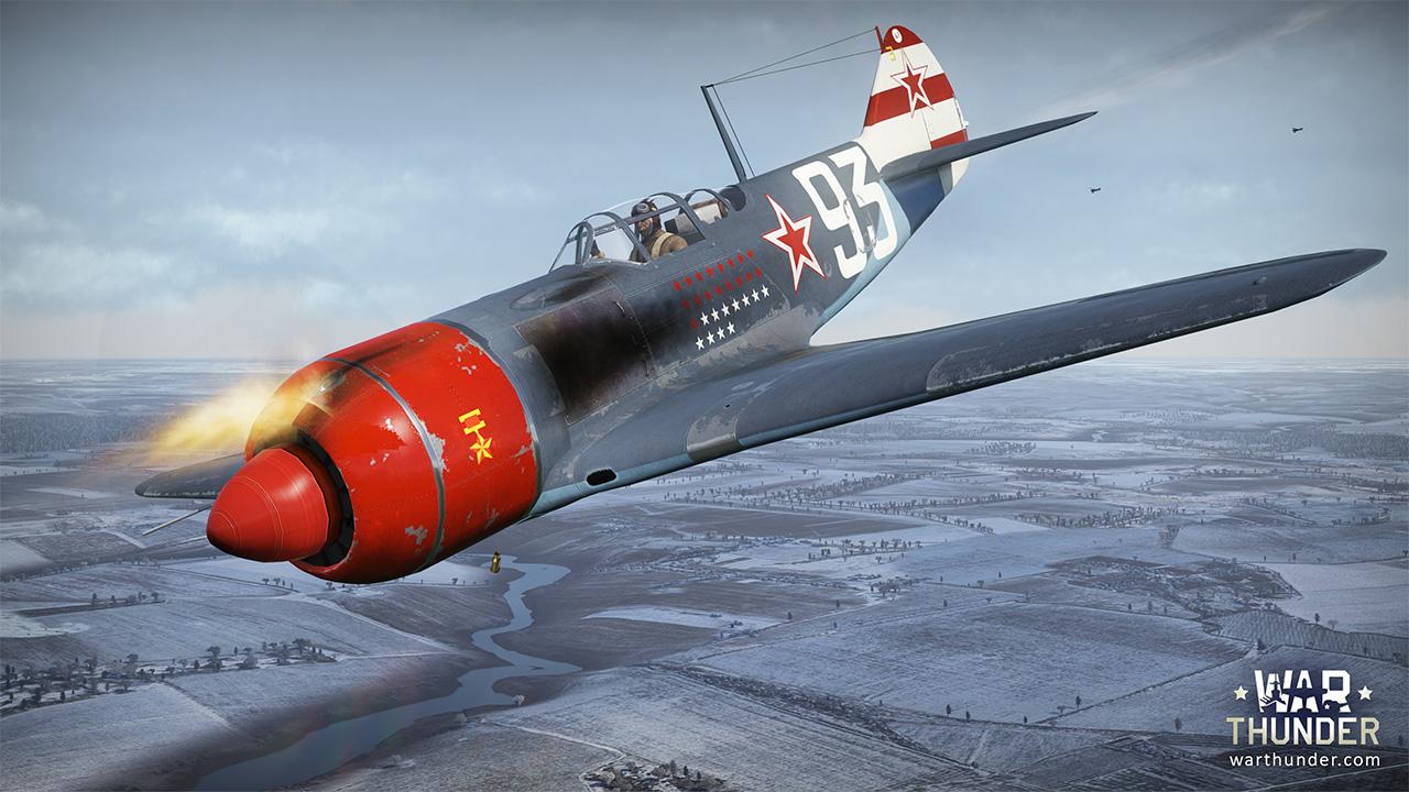 War Thunder La-7